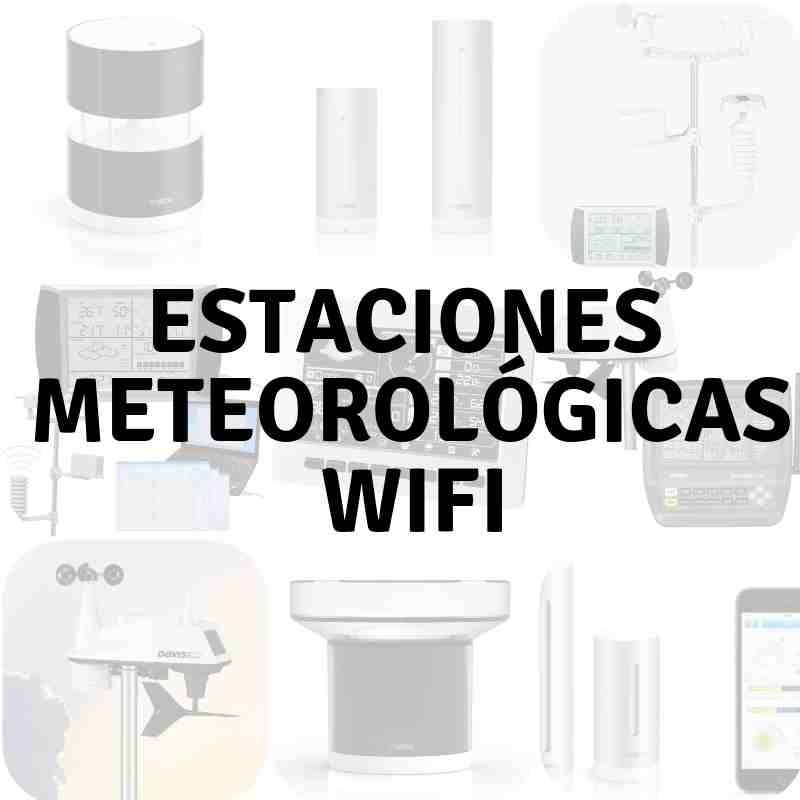 estaciones meteorológicas wifi